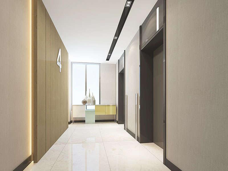客房层电梯间
