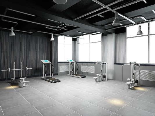 济南健身房装修